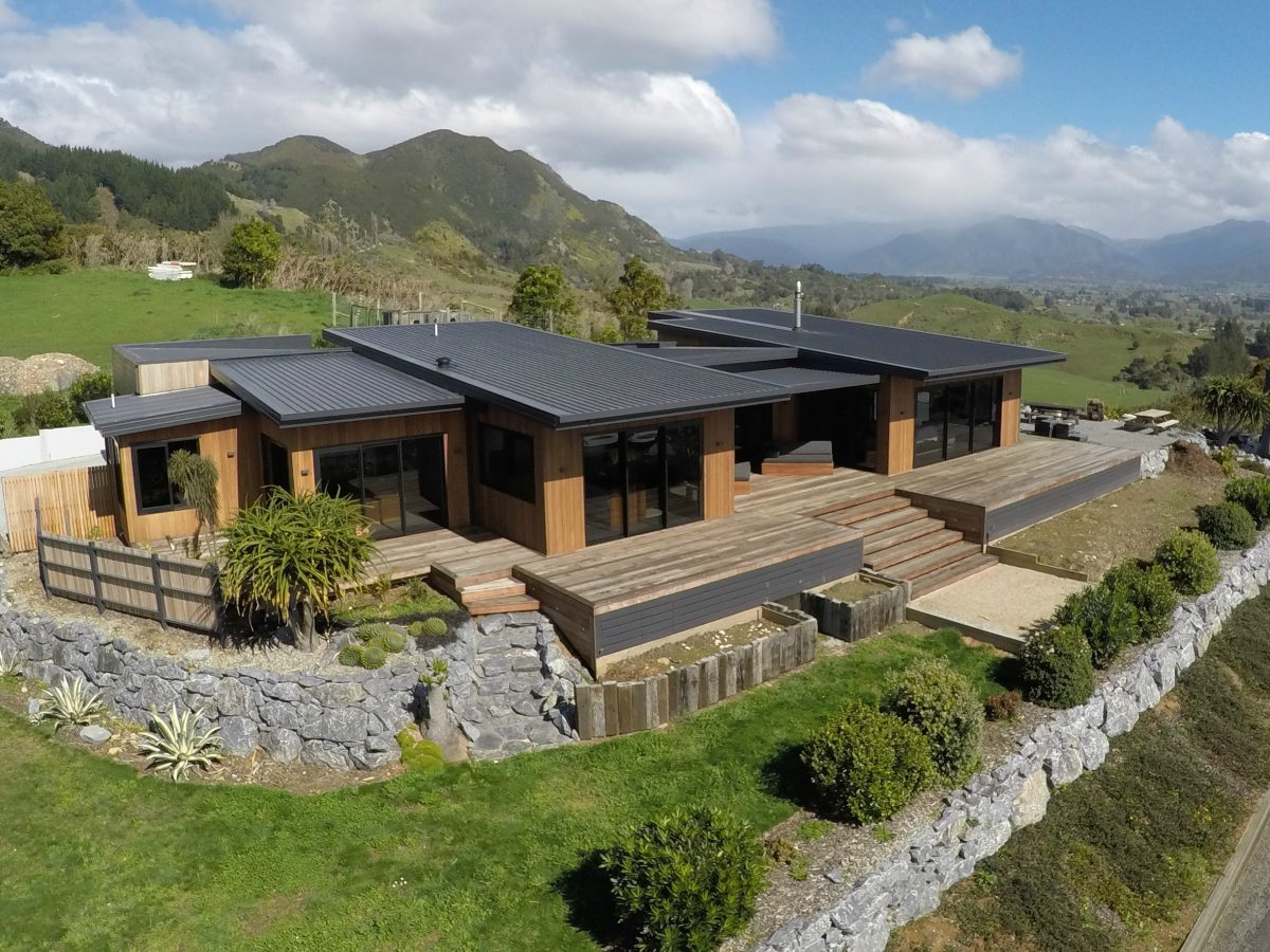 Architectural Home Takaka, Golden Bay Builders