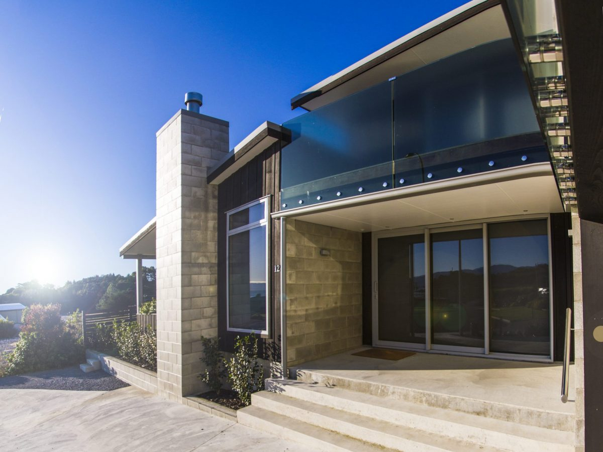Architectural Home, Golden Bay Builders Takaka